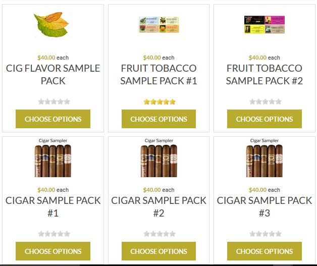 Real Extracts – 10ml Sample Packs Available