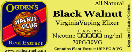 Black Walnut Virginia Lea Banner