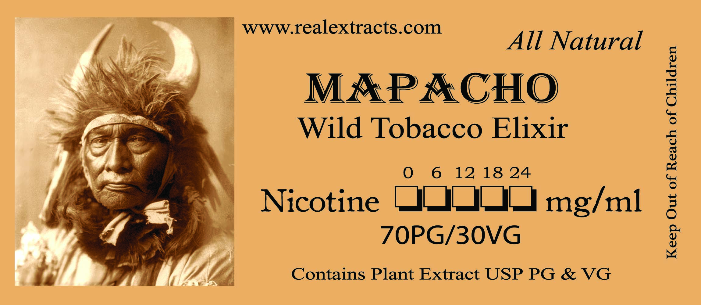 MAPACHO Label