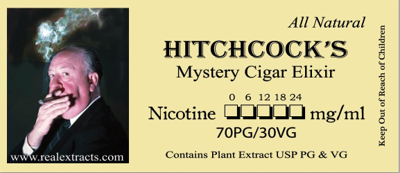 hitchcockcigar3 label